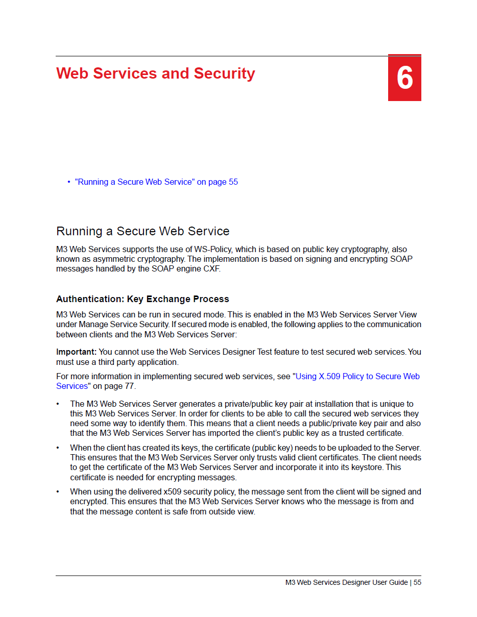 X509 token policy for m3 web services m3 ideas doc55 doc77 for more information about the implementation of ws security baditri Choice Image