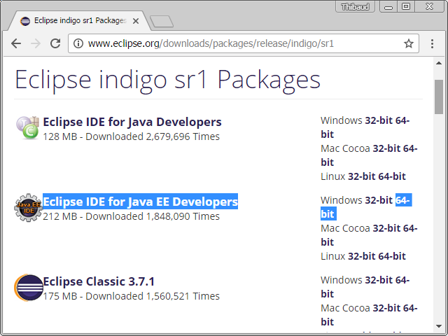 Download eclipse indigo ide for java ee developers